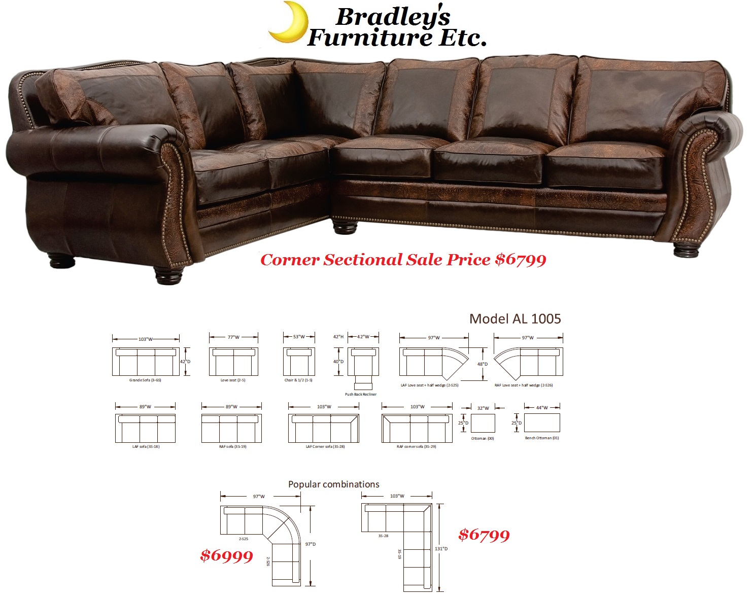 Rustic Leather Hide A Way Bed And Sleeper Sofas ~ Genuine Leather Sleeper Sofa