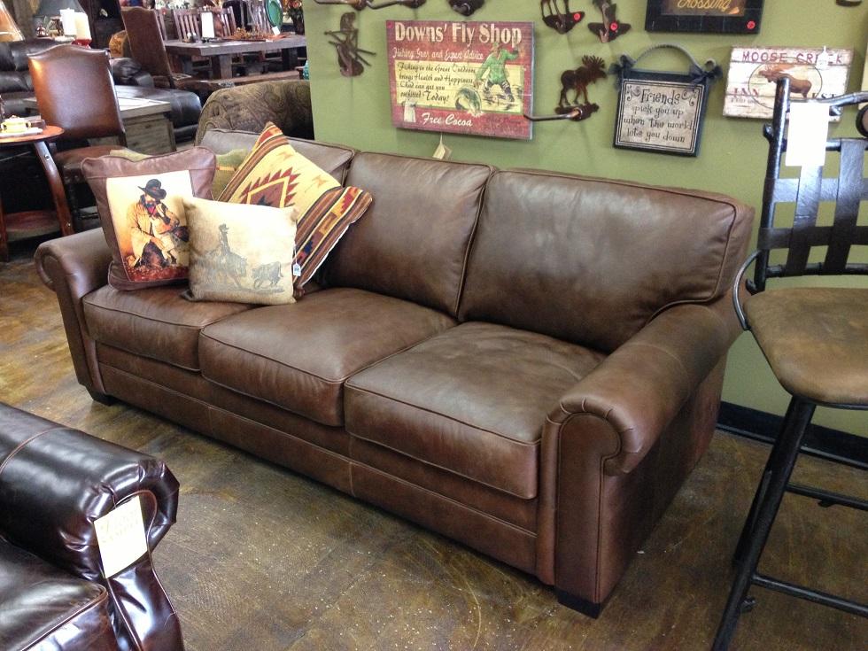 Bradley 39 S Furniture Etc Rustic Sofas On Our Floor