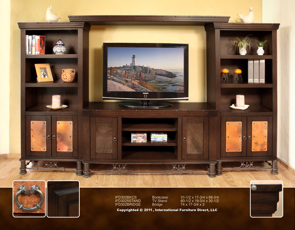 Rustic TV Stands And Entertainment Centers