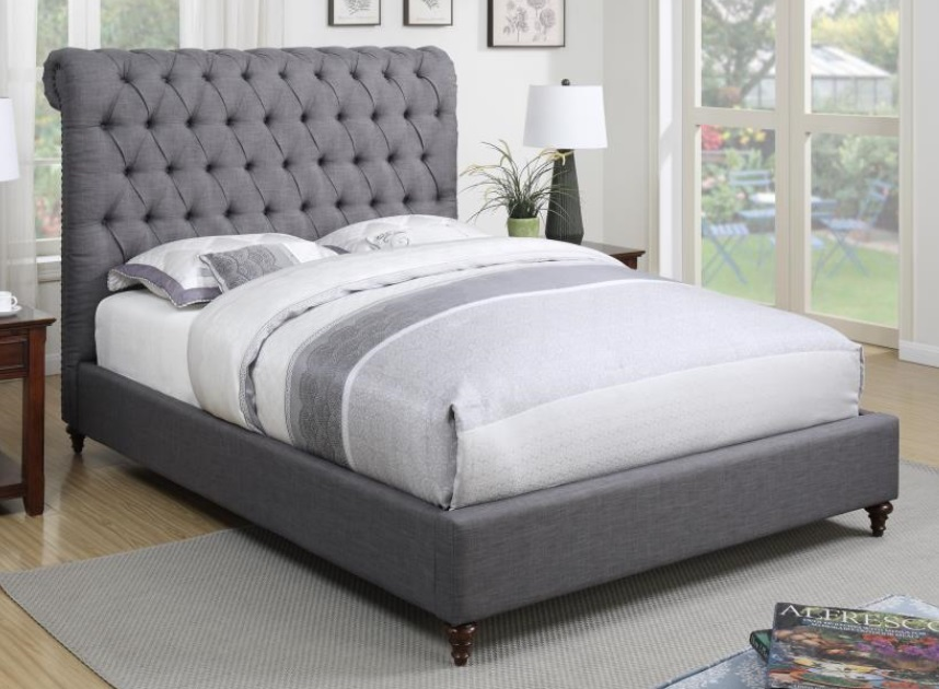 Coaster Devon 300527 Upholstered Full Queen King And CalKing Bed Collection