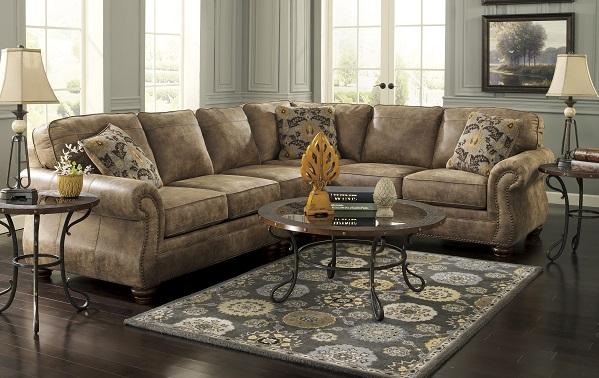 Bradleys Rustic Furniture - Benchcraft Fabric Sectionals