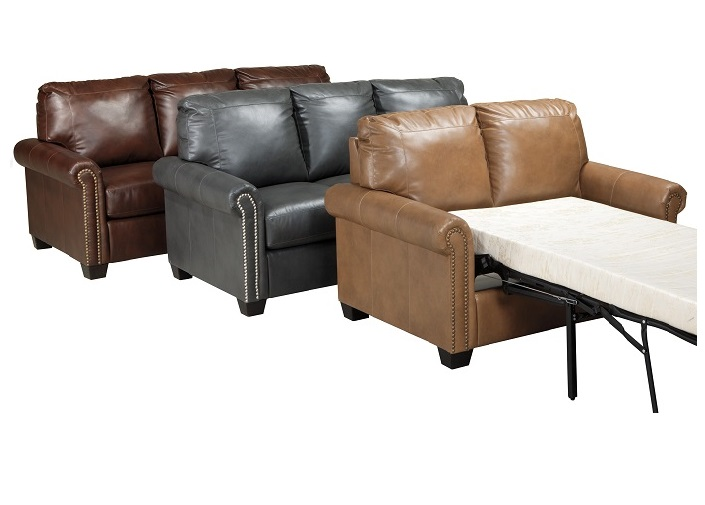 Rustic Sleeper Sofa Rustic Leather Hide A Way Bed And