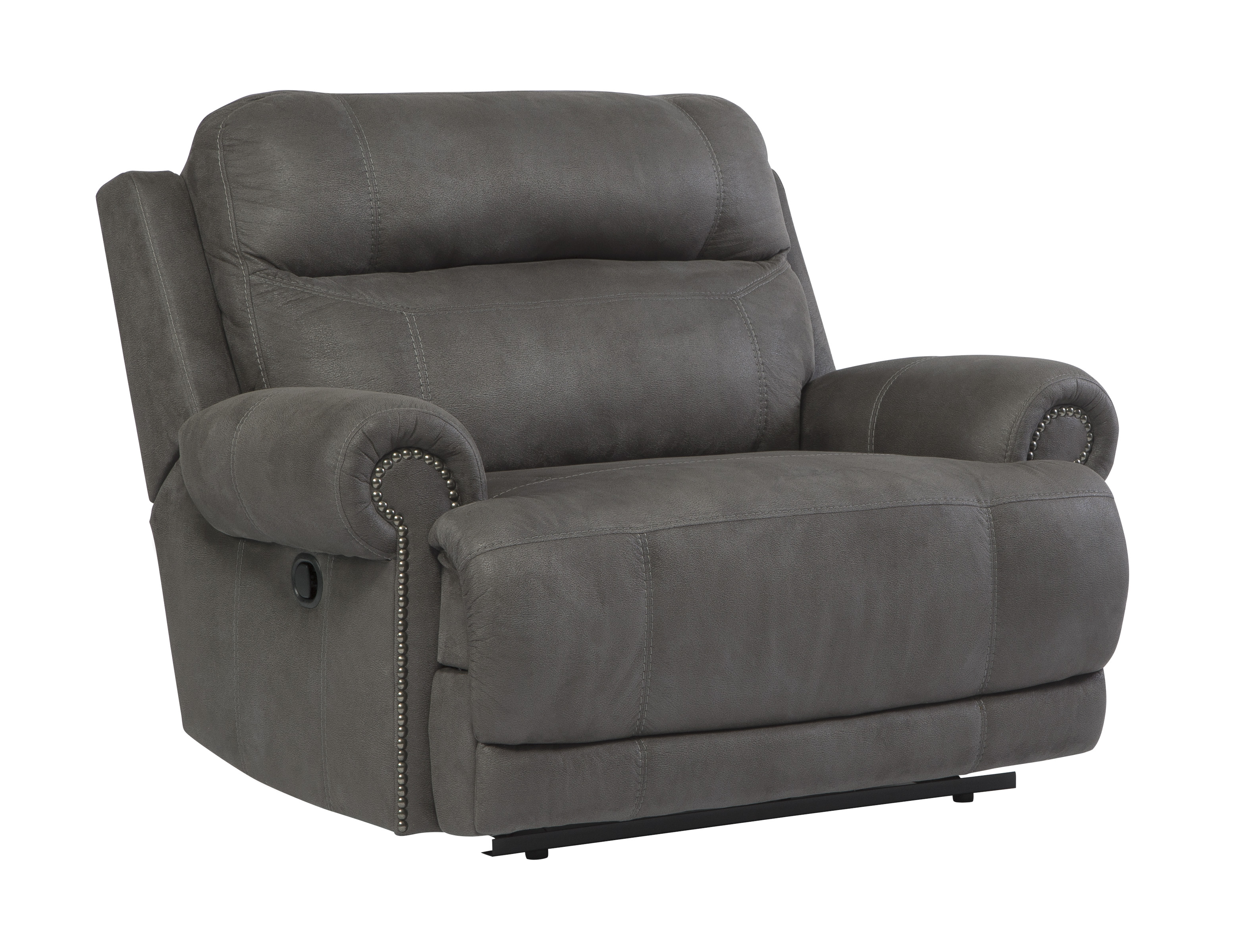 mathis brothers recliner double leather reclining wide pin sofa bernhardt reese furniture