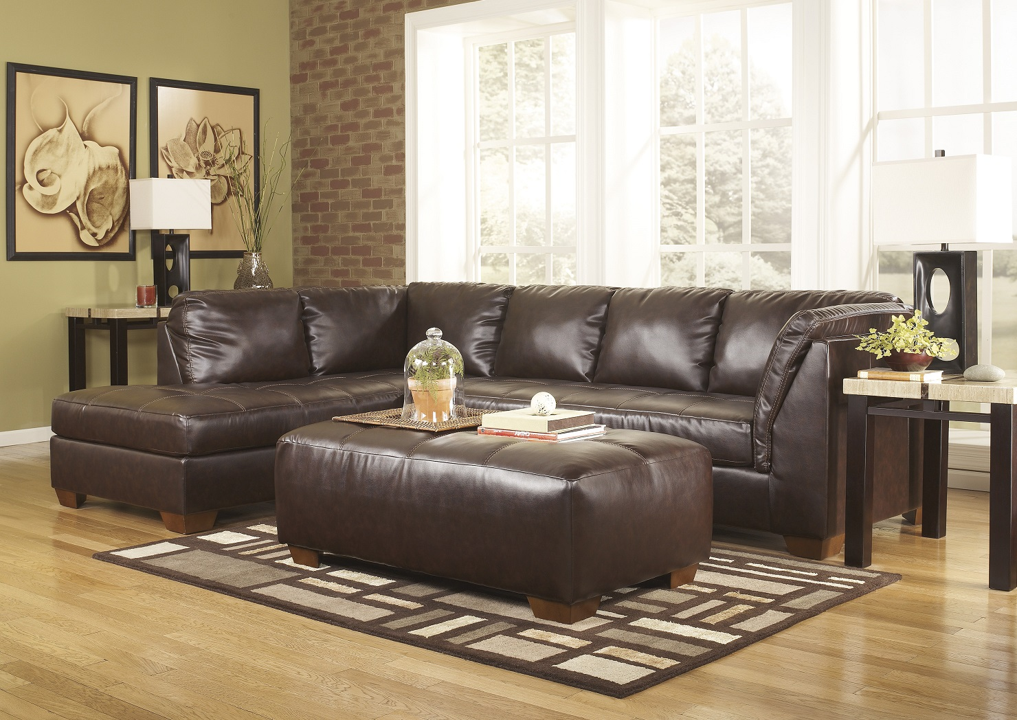 448 bonded leather chaise was 1069 sofa sectional sale