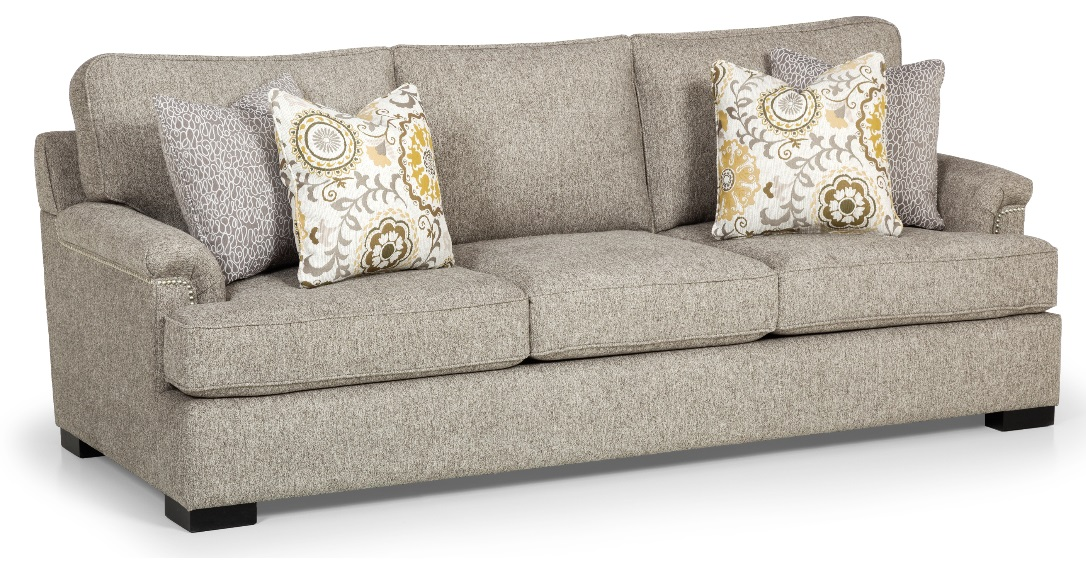 Astounding Bradleys Furniture Etc Stanton Fabric And Leather Sofas Home Interior And Landscaping Dextoversignezvosmurscom