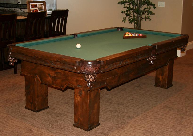 Utah Rustic Furniture - Pool table companies