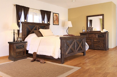 barnwood bedroom sets