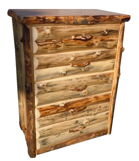 Bradley 39 S Utah Log Furniture Rustic Aspen Log Bedroom