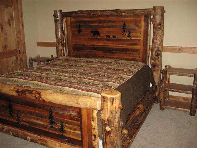 Bradley\'s Utah Log Furniture - Rustic Aspen Log Bedroom Collection