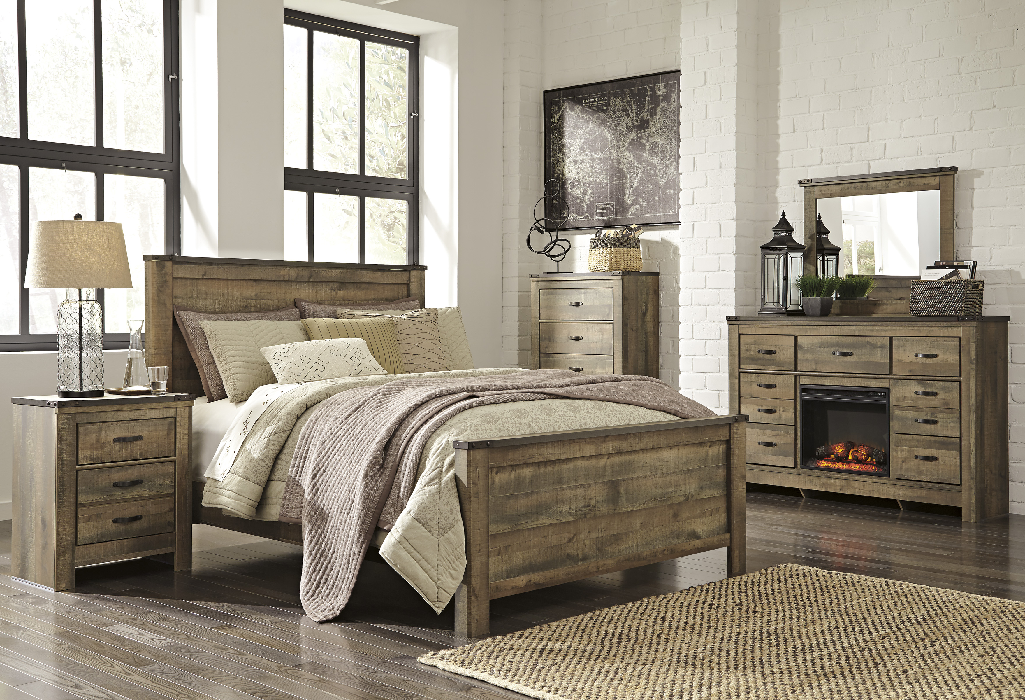 Barnwood Bedroom Set | Best Interior & Furniture