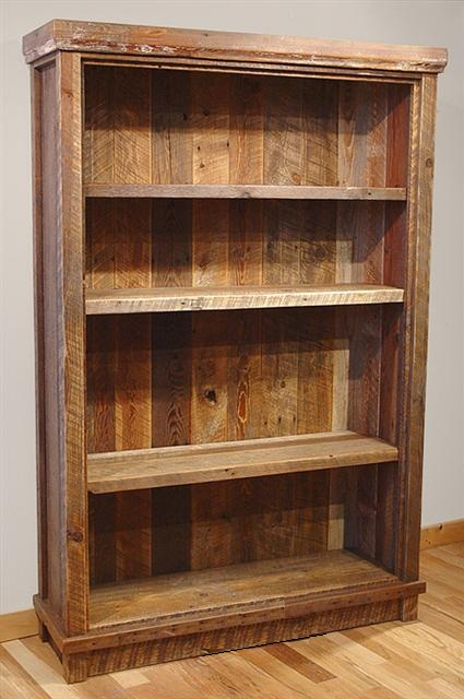 Premium Reclaimed Barnwood Bookshelf 36 W X 18 D 48 H Was 999 Now 699 60 1099 729