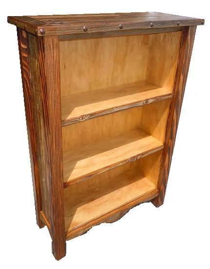 Custom Handmade Rustic Bookshelves - ETA 5-8 Wks - Bradley's Furniture Etc. - Rustic Bookshelves