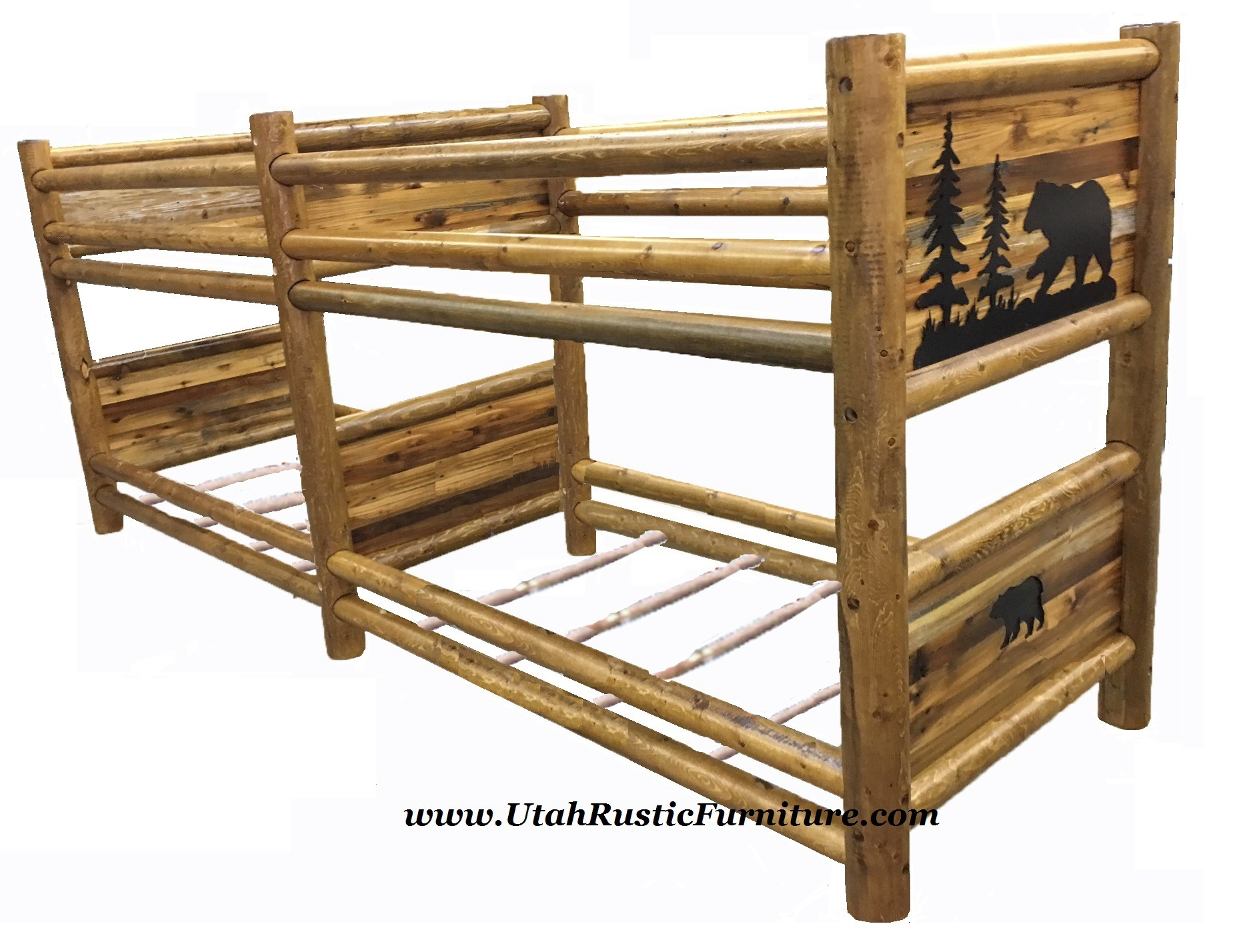 juniper beds handcrafted rustic log twisted bed maxwell