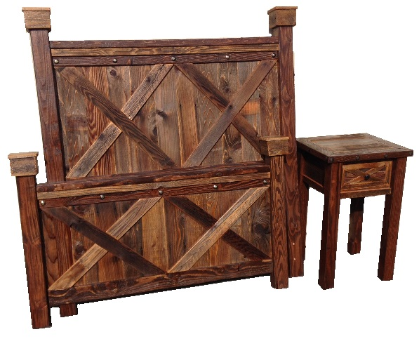 Bradley\'s Furniture Etc. - Rustic Barndoor Barnwood Collection