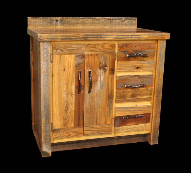 Bathroom Vanities Utah bradley's furniture etc. - rustic bathroom vanities