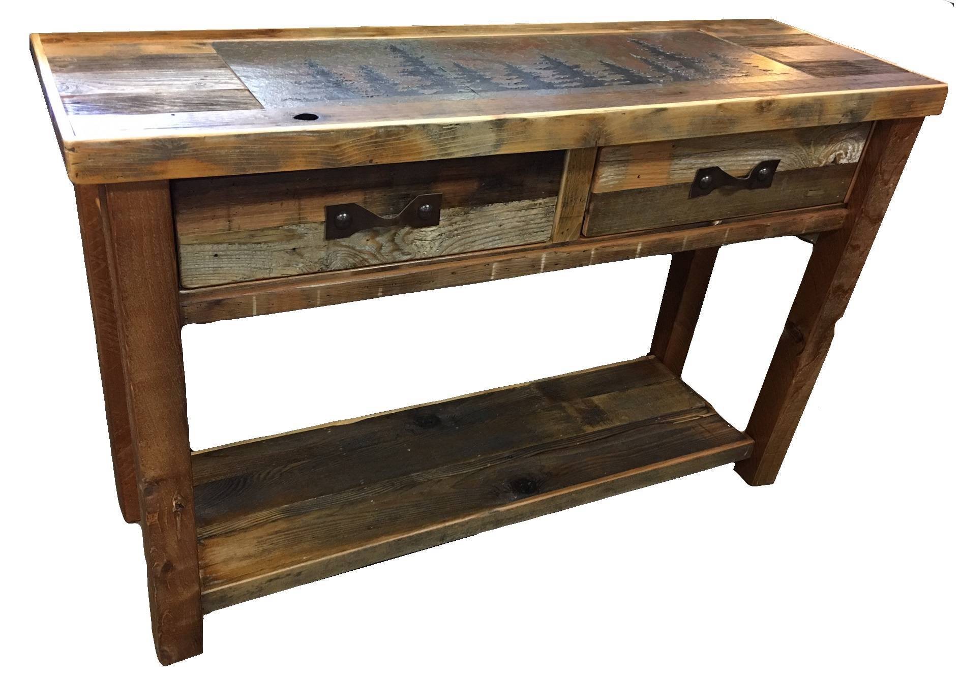 Bradley S Furniture Etc Rustic Occasional Tables
