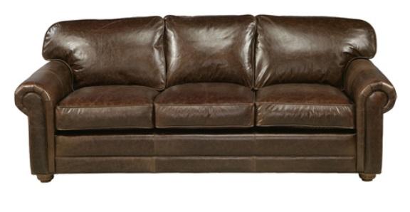 dalton 100 top grain leather sleeper sofa