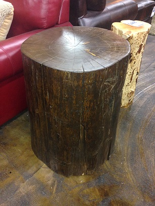 Peachy Bradleys Furniture Etc Rustic Stump End Tables Home Interior And Landscaping Ymoonbapapsignezvosmurscom