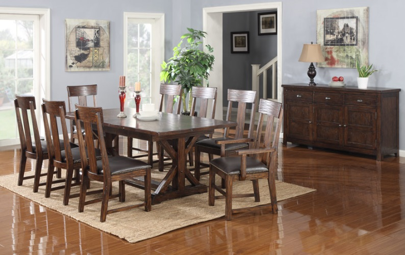 84 inch dining table dining room dining table 84 bradleys furniture etc utah rustic and mattresses