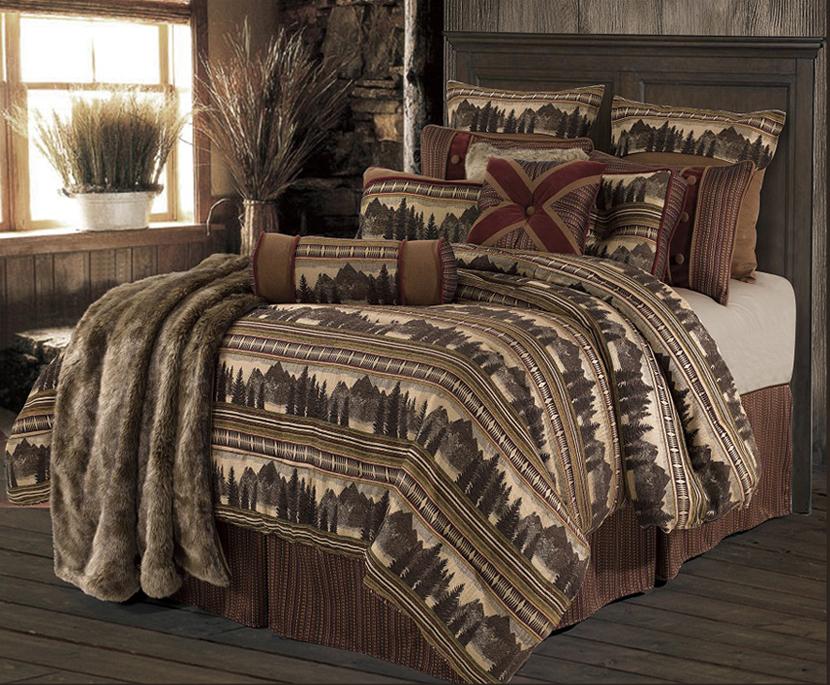 Utah Rustic Comforters And Bedding