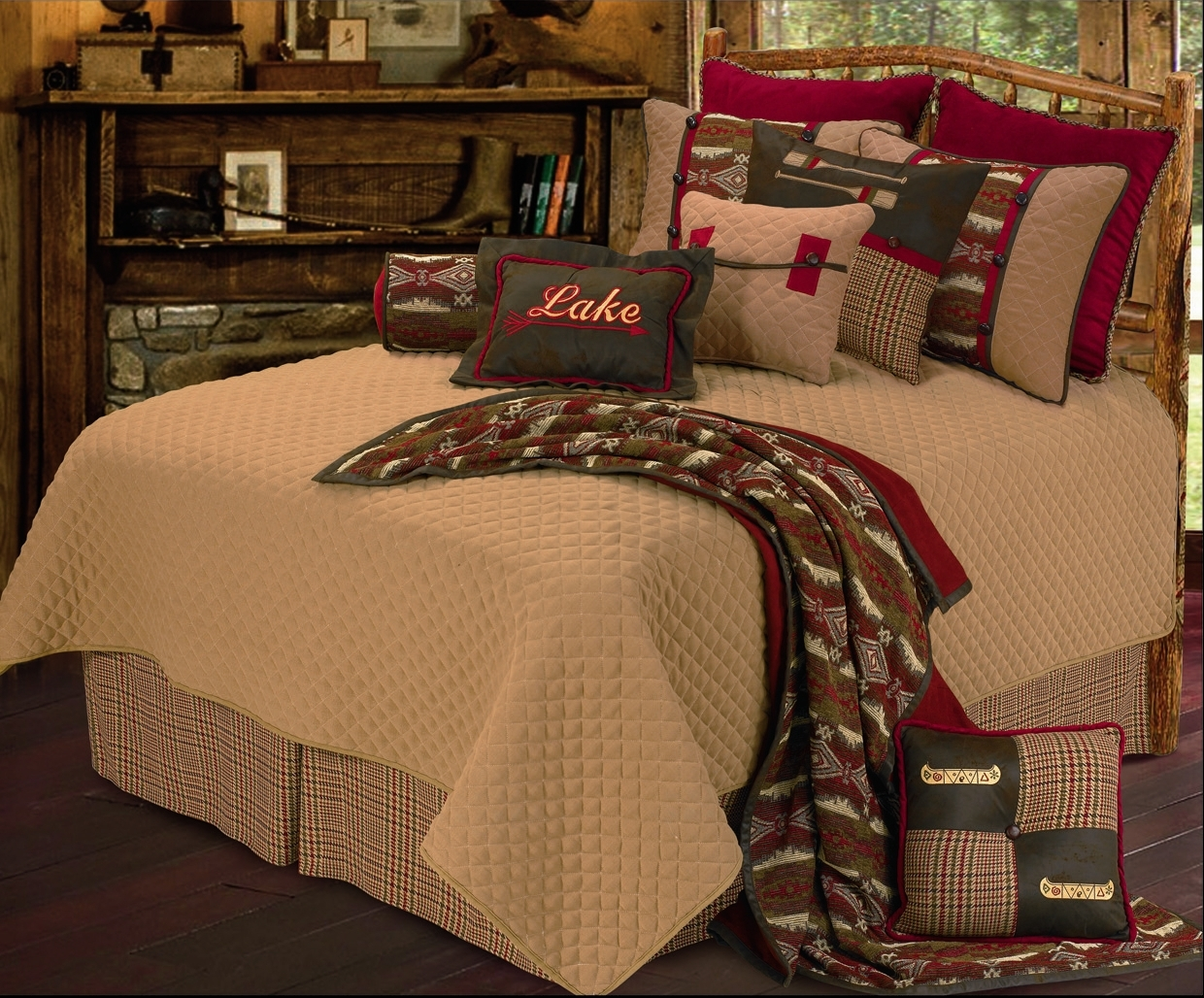 Bradley S Furniture Etc Utah Rustic Comforters And Bedding