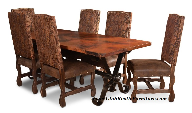 San Antonio Dining Chairs W Microfiber Seats Was 469 Now 369 Boardwalk Solid Wood Butcher Block Table