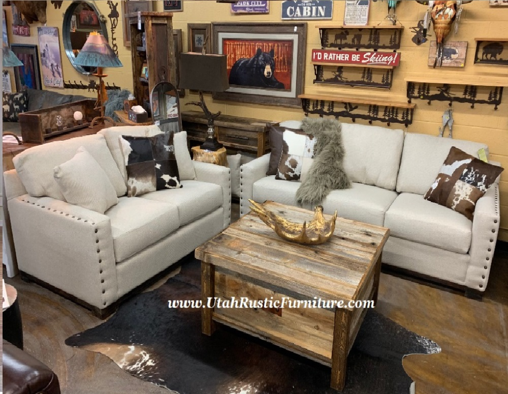 Good Rustic Living Room Furniture Part - 6: Utah Rustic Furniture