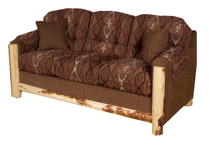 Rustic Hide A Bed Couch: Rustic Fabric Hide-a-way Bed And Sleeper Sofas