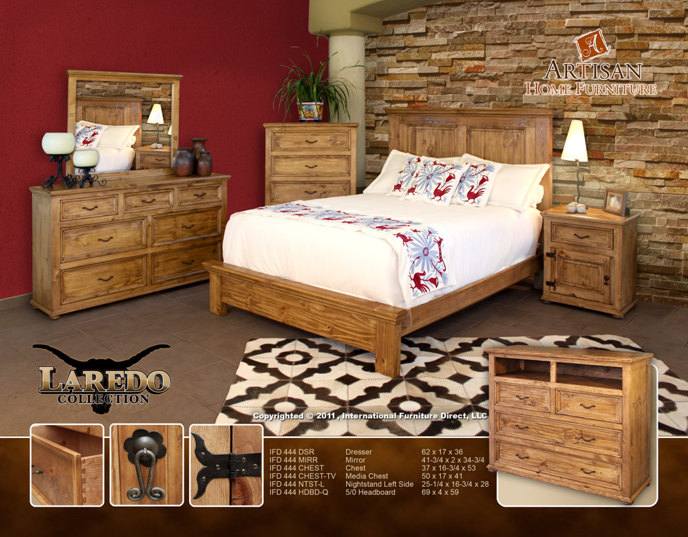 Bradley 39 s furniture etc rustic artisan bedroom collections for Rustic bedroom furniture