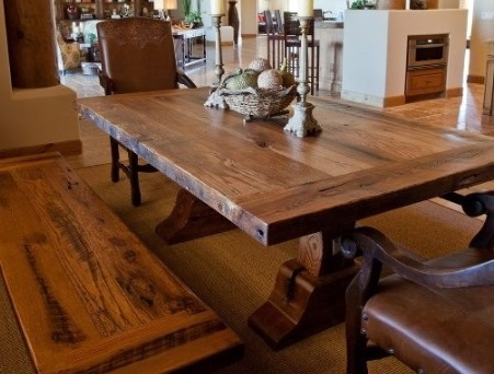 Rustic Dining Room Table bradley's furniture etc. - utah rustic dining table sets