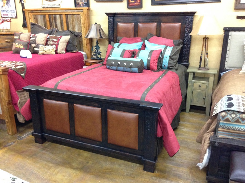 Bedroom Furniture on Display
