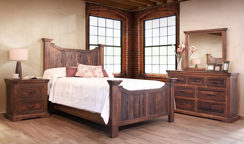 Solid Wood Maderia Reclaimed Wood Set New Collection  Email For Pricing