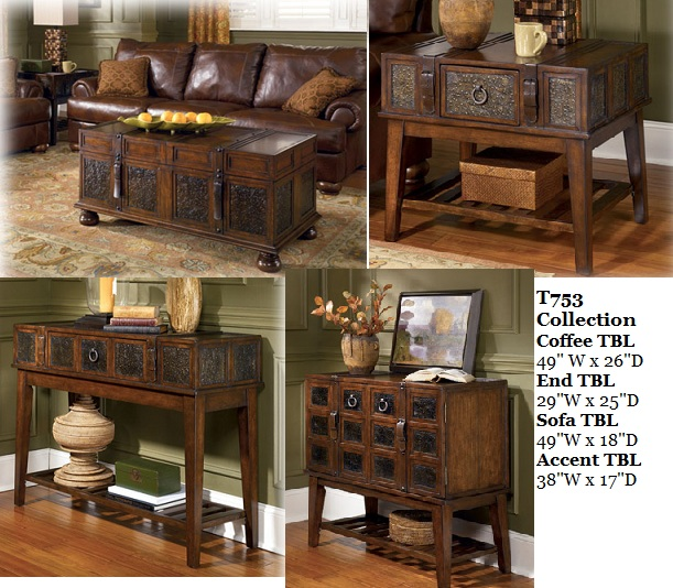 bradley 39 s furniture etc rustic occasional tables. Black Bedroom Furniture Sets. Home Design Ideas