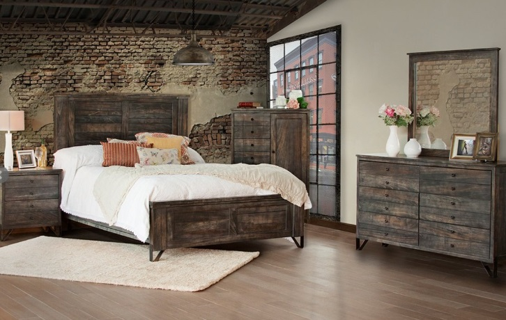 Bradley S Furniture Etc Utah Rustic Bedroom Furniture