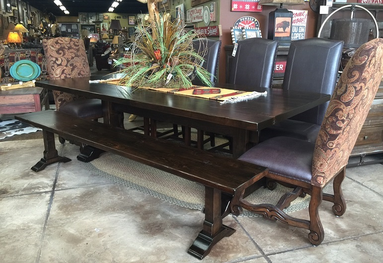 Bradley s furniture etc utah rustic dining table sets