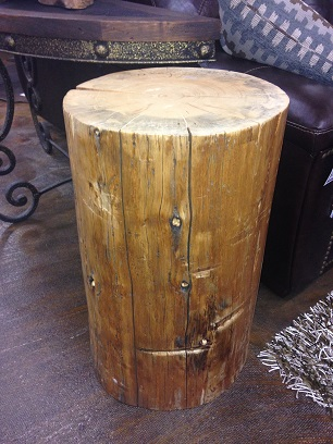 Stump end table tree stump end table best for your for Stump furniture making