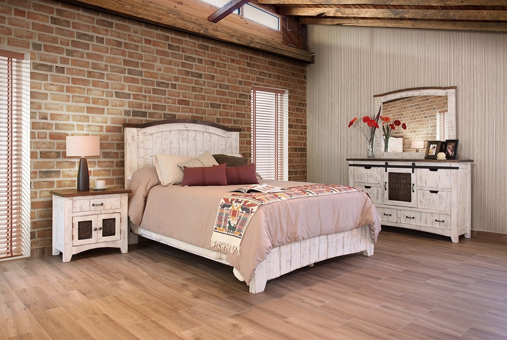 Artisan Pueblo Distressed Bedroom Set Avail. In Antique Black Or Antique  White Email For Pricing And Click For Dimensions