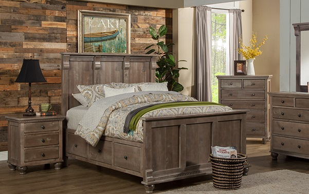 Bradleys Furniture Etc Utah Rustic Bedroom Furniture Transitional ...