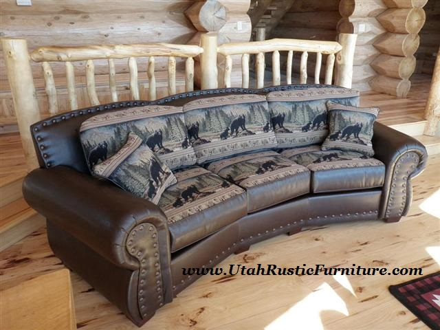 Omnia Top Grain Custom Leather Couches