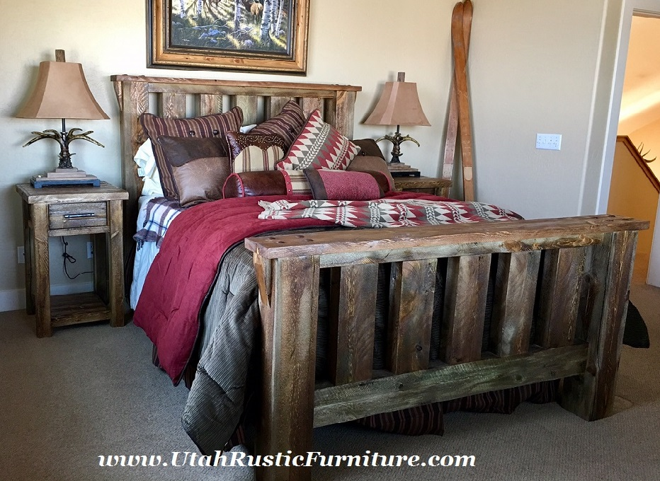 Bradley 39 s furniture etc utah rustic bedroom furniture for Custom made bedroom furniture