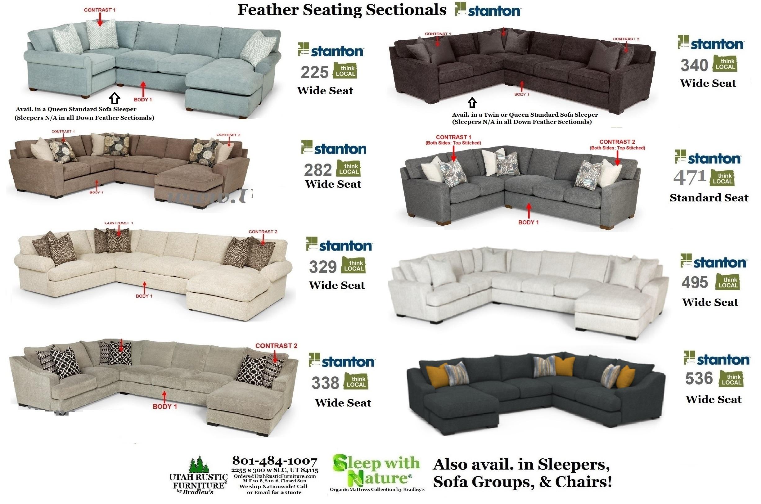 Brilliant Bradleys Furniture Etc Stanton Fabric And Leather Sofas Home Interior And Landscaping Ponolsignezvosmurscom