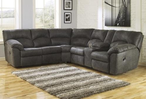Bradleys Rustic Furniture Benchcraft Fabric Sectionals