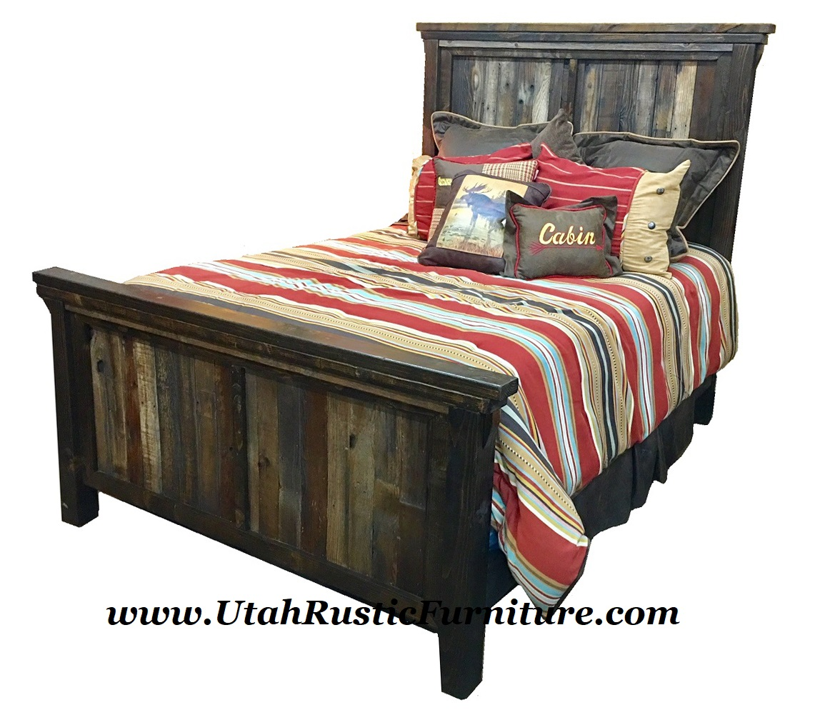 Bassett Furniture Utah: Utah Rustic Timbercreek Bedroom Set