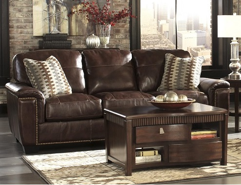 Bradley S Furniture Etc Rustic Leather Couch Collections