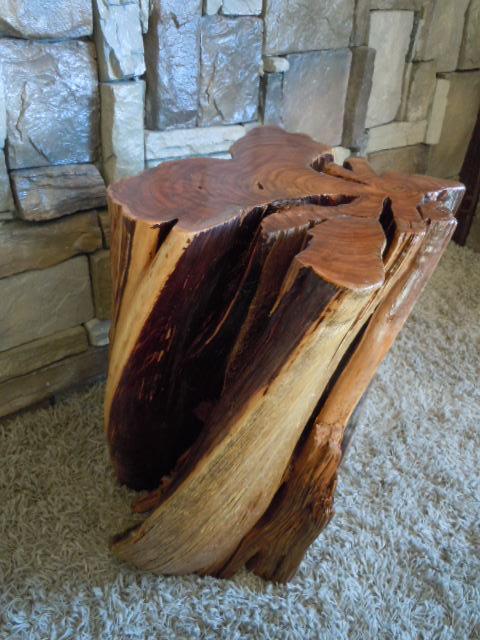 Large Tree Stump Coffee Table Large Elm Stump Coffee Table