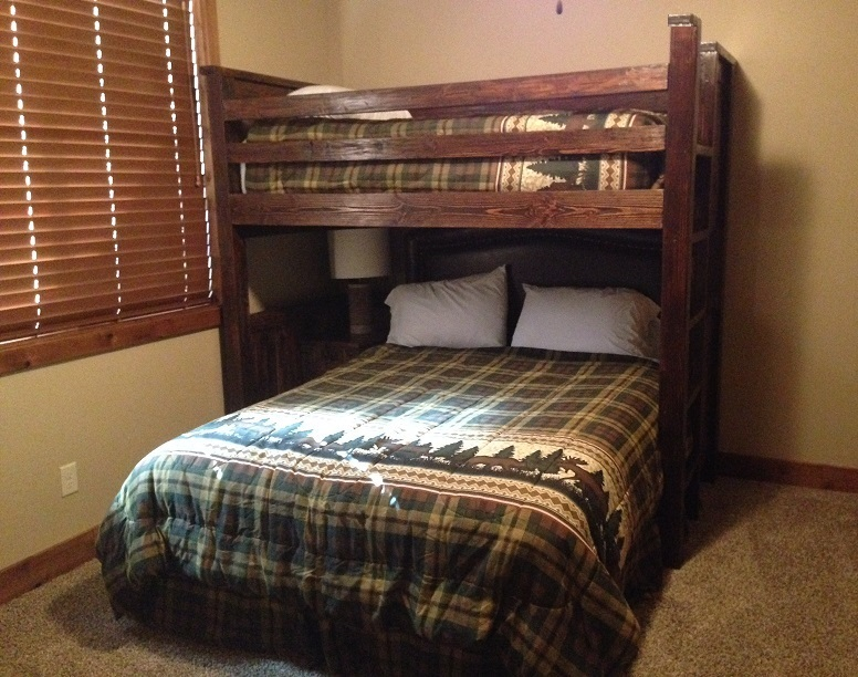 Bradley S Furniture Etc Western Plains Barnwood Bunk Bed