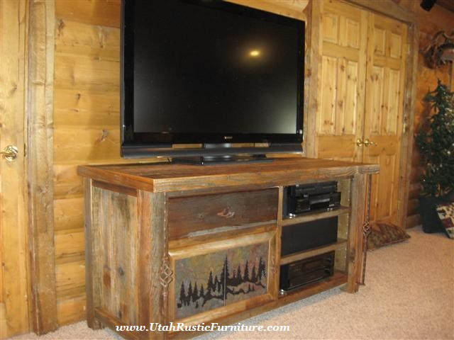 Attrayant Rustic TV Stands