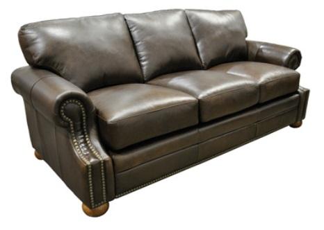 bennett 100 top grain leather sleeper sofa