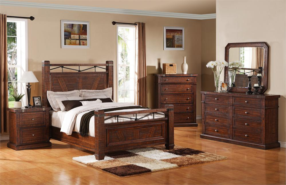 Beau Barnwood Bedroom Sets