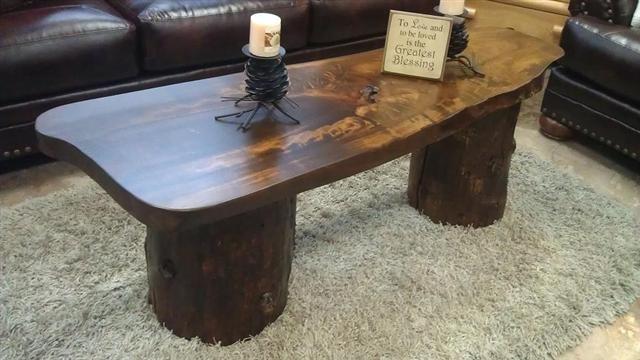 Large Tree Stump Coffee Table Large Cottonwood Stump Coffee